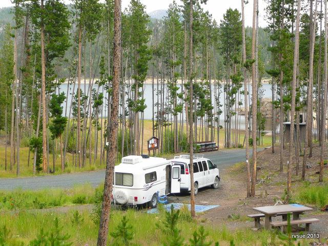 Campsite #2, Delmoe Lake Campground, Montana