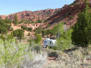Our second campsite at Sunglow
