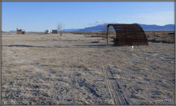A Free Camp In The Great Basin Near Sunnyside Nevada